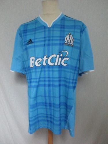 Maglia Blu Calcio Da Taglia Om Vintage Marsiglia Xl Adidas YYrvwfq