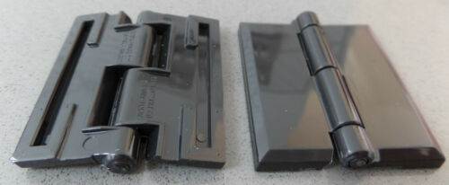 45mm-300mm White /& Clear Acrylic Plastic Piano Continuous Hinges Hinge Black