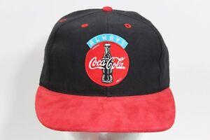 Image is loading Vintage-COCA-COLA-Snapback-Hat-Coke ee505b04c522