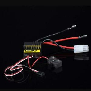 320A-Controlador-de-Velocidad-Cepillado-ESC-para-RC-Coche-Buggy-Electrico-de-1-8-1-10-nuevo-barco-BR