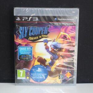 Sly-Cooper-Thieves-in-Time-Sony-Playstation-3-ps3-Spiel-NEU-amp-VERSIEGELT