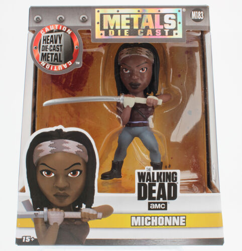 "Michonne with Samurai Sword 4/"" METALS AMC TWD M183"