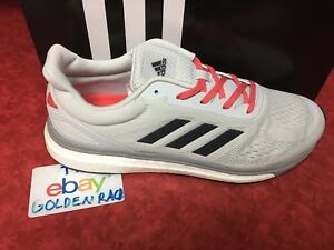 Adidas impulso risposta e le scarpe da corsa bb3422 grigio chiaro