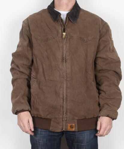 Coat 44 Workwear Carhartt Hauteur aviateur XL 46 Blouson Marron TwPvWq