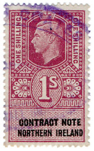 I-B-George-VI-Revenue-Contract-Note-Northern-Ireland-1