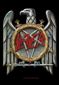 SLAYER-EAGLE-LOGO-FABRIC-POSTER-30-x-40-WALL-HANGING-53839