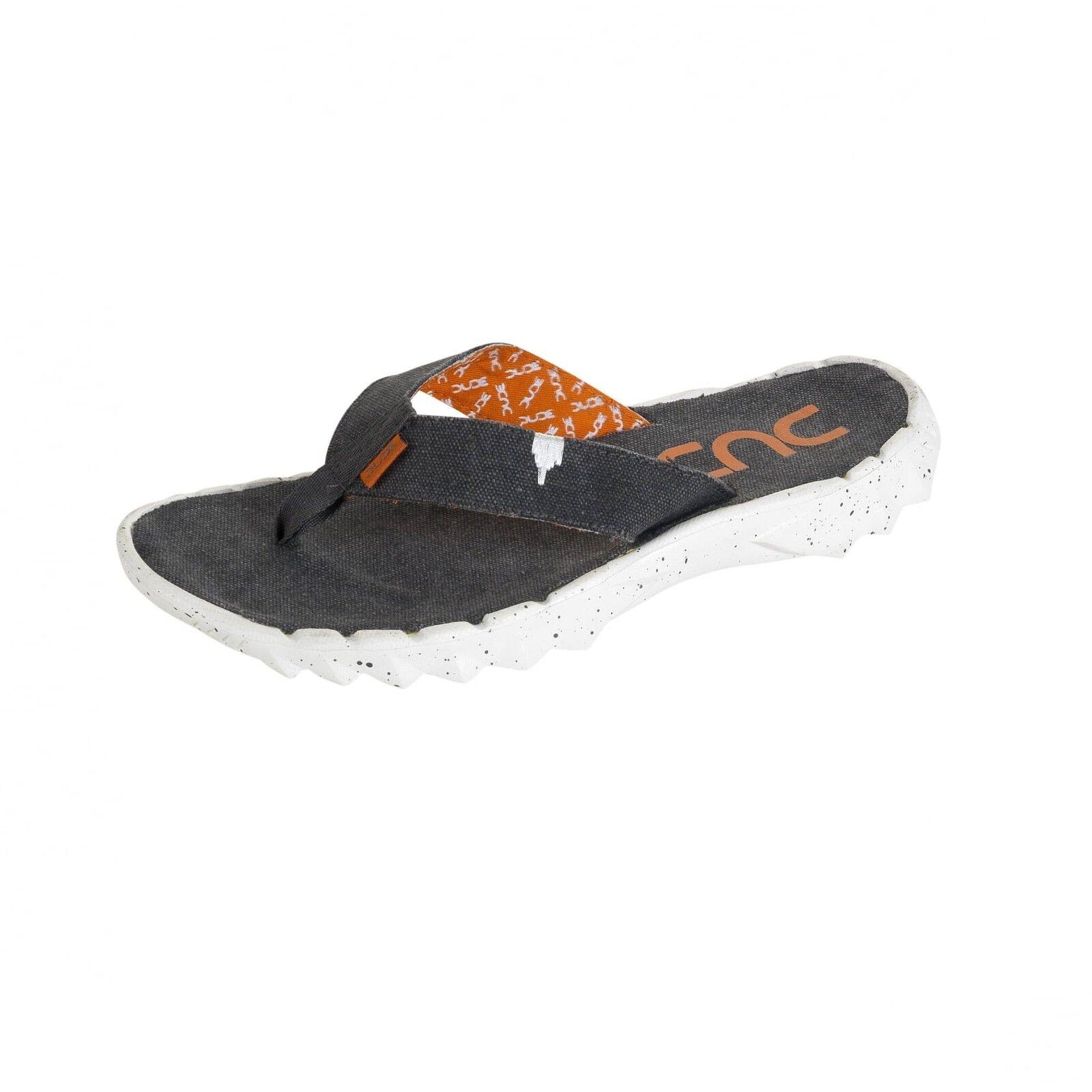 Hey Dude shoes Mens & Womens Sava Funk Ossidiana Canvas Flip Flops