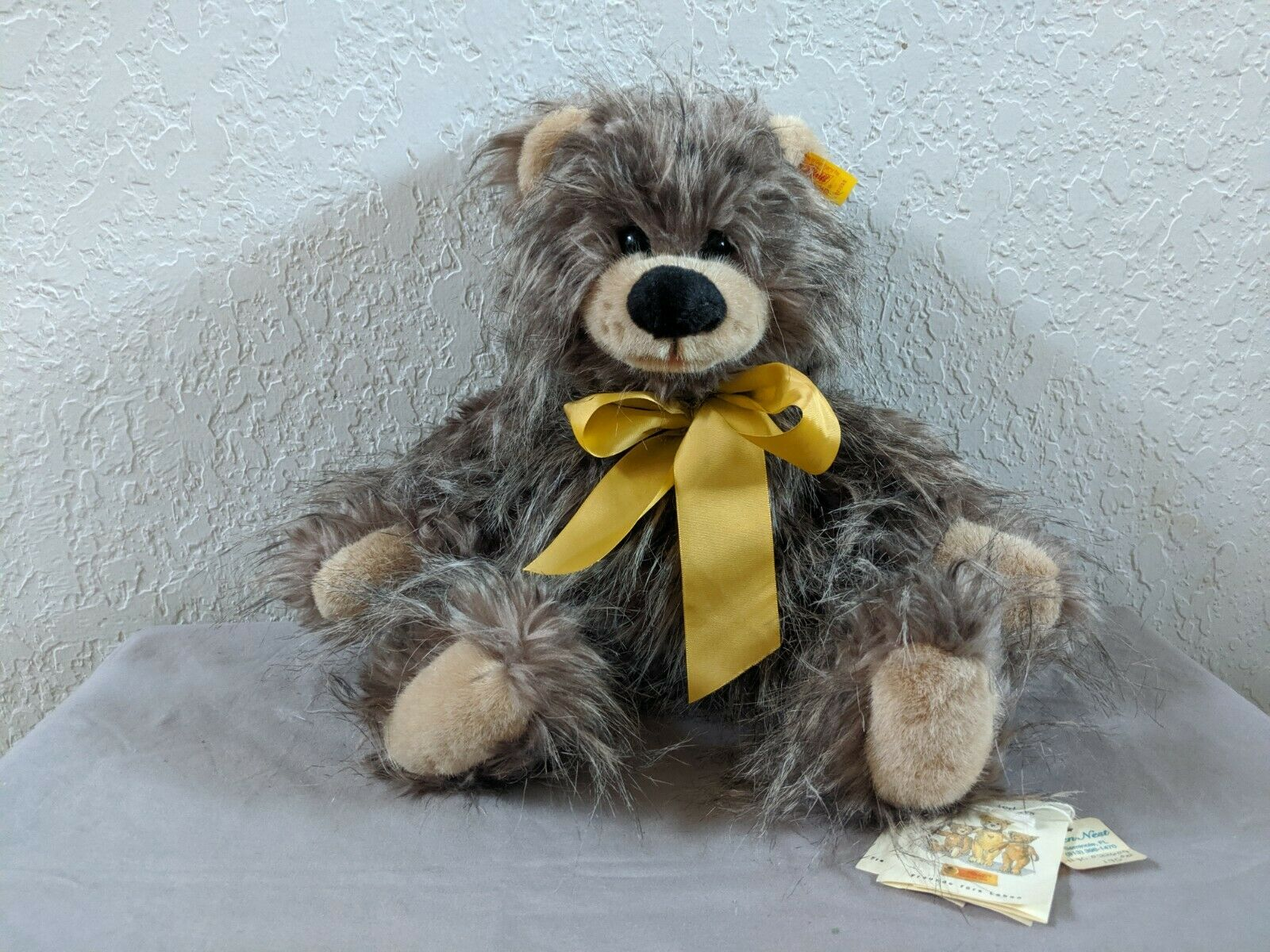 STEIFF PLUSH WUSCHEL TEDDY BEAR 022609