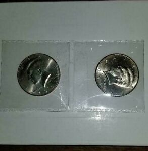 2001 Un-Circulated P/&D Kennedy Half Dollars from U.S Mint Rolls