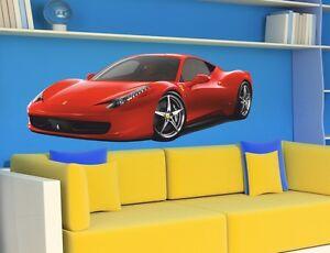 Wandtattoo cars sport f r kids ferrari 458 italia dekor - Wandtattoo ferrari ...