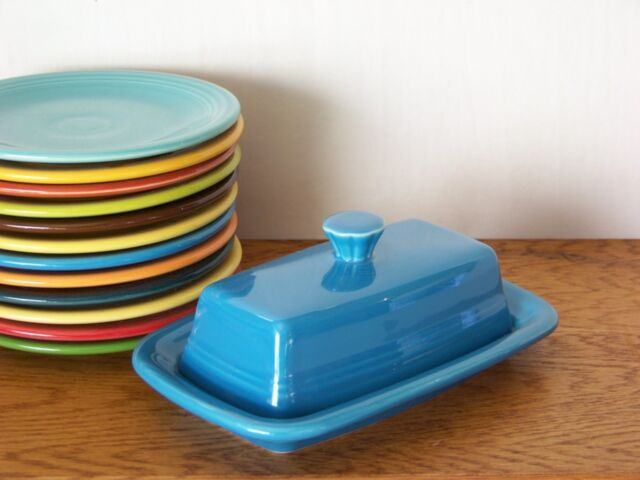 LAPIS Fiesta® Extra Large Covered Butter Dish Set - 1st Quality