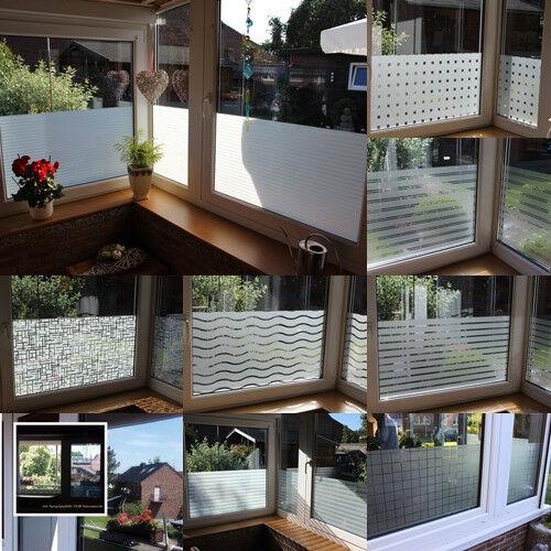 6,57€// M ² Fenêtre Film UV Protection Visuelle Éblouissement Opaque