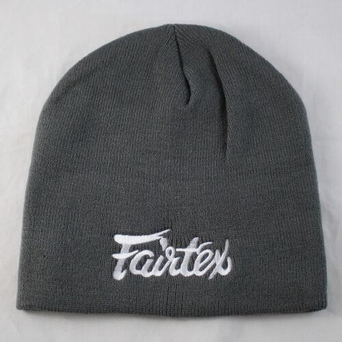 FAIRTEX BEANIE HAT MUAY THAI KICKBOXING MMA CAP FOR MEN HATS BINIE WINTER