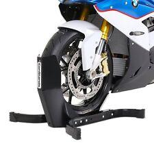 Motorradwippe Motorrad-Ständer Vorderrad Radklemme vorne Montageständer schwarz