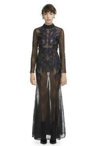 Camilla-and-Marc-The-Coco-Gown-in-Black-and-Blue-Size-AU-8-US-4
