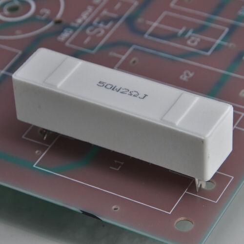 3.3K  Ohm 1//4 Watt Carbon Film Resistor 100 Pieces Prime Parts US Seller