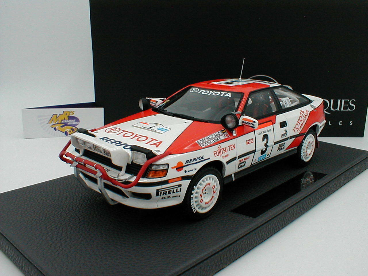 TOP Marques TOP44B - Spielzeugota ST 165 Winner Safari Rallye 1990   Waldegard   1 18