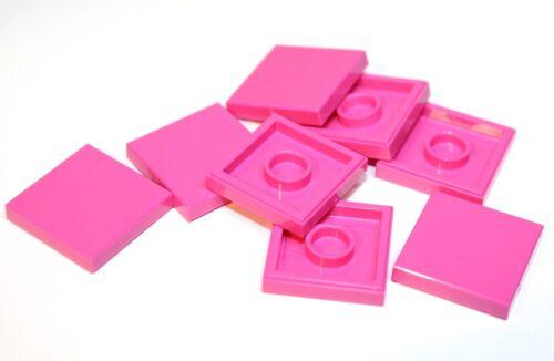 8x LEGO® Fliese//Kachel 2x2 3068 NEU Dunkelpink Dark Pink