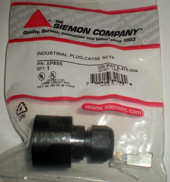 NEW Siemon XP85 Cat5e Industrial Field Terminated Plug