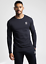 Gym-King-Mens-Long-Sleeve-Crew-Neck-Basis-Slim-Fitted-Designer-T-Shirt-Tee-Top thumbnail 20