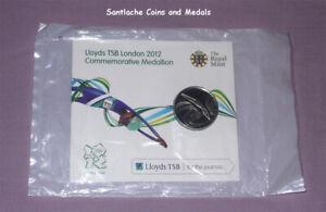 2012 ROYAL MINT & LLOYDS TSB LONDON OLYMPICS COMMEMORATIVE MEDAL IN SEALED PACK