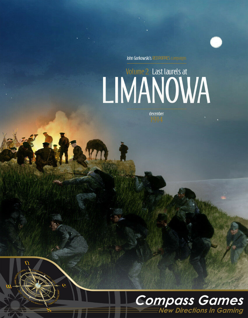 Compass Games Red Poppies Campaigns  Volume 2 - Last Laurels at Limanowa NISW
