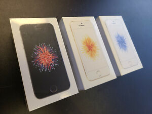 New Sealed Apple iPhone SE 32/128GB 1st Gen Unlocked Space Gray Rose Gold Silver