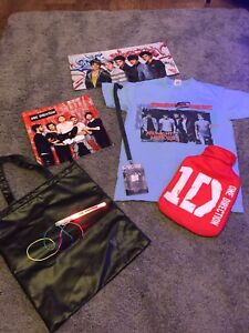 Details about One Direction Merchandise Bundle Where We Are Tour Midnight  Memories