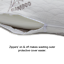 Memory-Foam-Pillows-Bamboo-Luxury-Bed-Anti-Bacterial-Premium-Neck-Support-Pillow thumbnail 4
