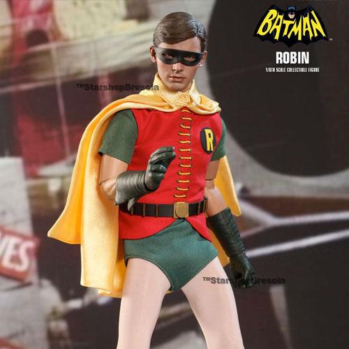 Batman - 1966 Robin Film Masterpiece 1 6 Action-Figur 12   Hot Toys Mms219