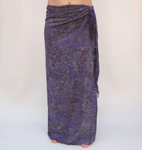 SAL506P Sarong Premium Qualität in Übergröße Pareo Sari Wandbehang Wickelrock
