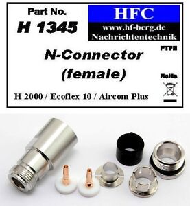 1-Stueck-N-Buchse-fuer-Ecoflex-10-Aircom-Plus-H-2000-Flex-50-H1345