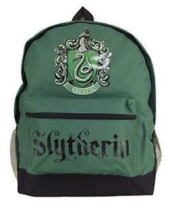 comprare popolare fd8ec a12eb Dettagli su Harry Potter Tela Zaino Serpeverde Crest Design UK Venditore-  mostra il titolo originale