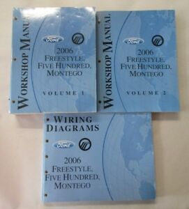 details about 2006 ford freestyle five hundred montego service shop repair manual set 2005 ford five hundred fuse box layout 2006 ford 500 fuse diagram — ricks