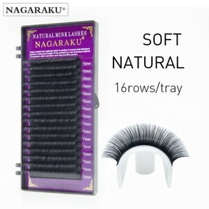 NAGARAKU-Lashes-Eyelashes-C-Curl-False-Natural-Individual-Eyelash-Extensition