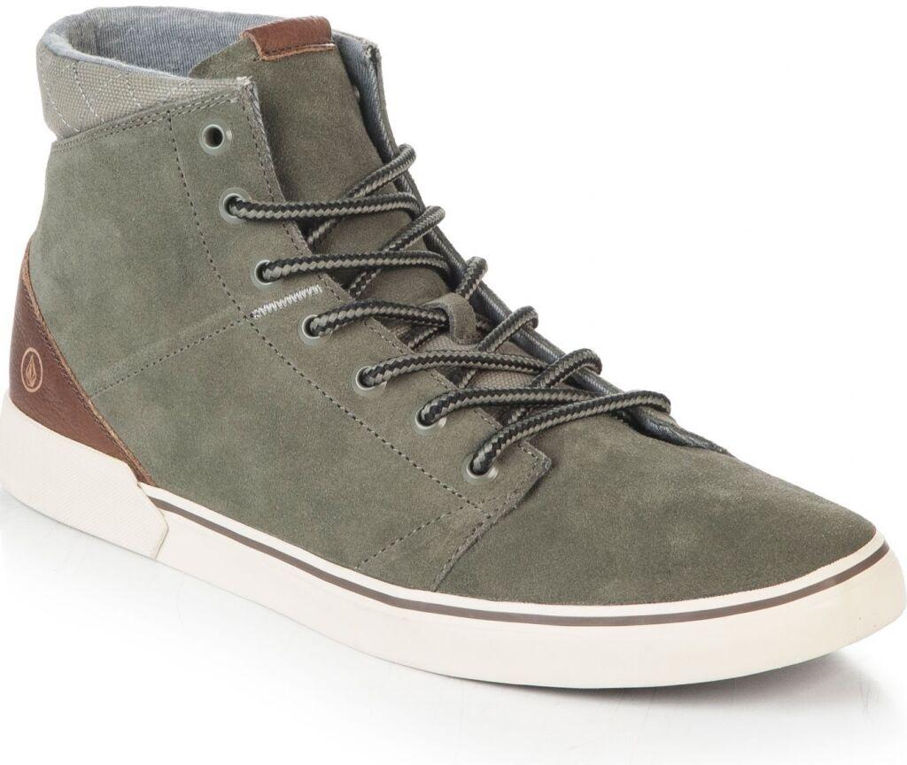 VOLCOM buzzard shoe army V4031426 green man scarpe uomo cod. V4031426 army _ 348f88