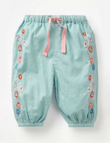 U9-2 NEW RRP £30 Mini Boden DETAILED WOVEN TROUSERS