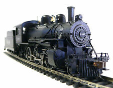 HO Scale Model Railroad Train Bachmann Santa Fe 2-6-0 DCC Sound Steam Locomotive