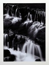 SIGNED ANSEL ADAMS Deluxe Images 1923-1974 w/ SIGNED Print FERN SPRING, DUSK