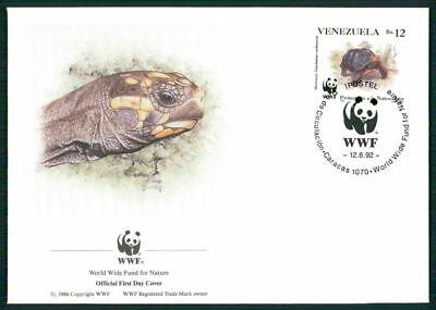Billiger Preis Venezuela Schmuck-fdc 1992 Wwf Fauna Tiere Animals SchildkrÖte Turtle El89