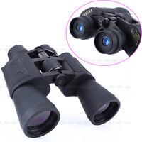 50mm Tube 10-180x100 HD Zoom High Resolution Day & Night Vision Binoculars w/Bag