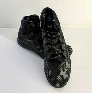 Under-Armour-Project-Rock-Delta-DNA-Shoes-Men-039-s-Sz-7-Black-Graphite-3020175-001