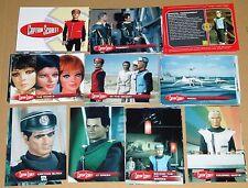 Captain Scarlet Cult 1960s UK TV Full Base Set of 54 Trading Cards - Unstoppable