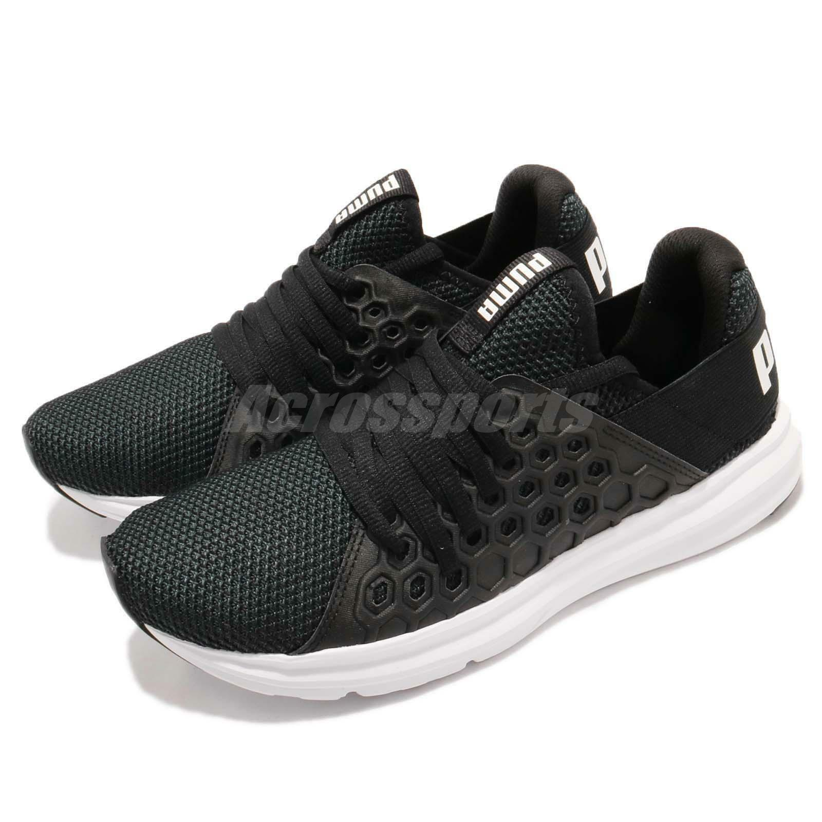 100% authentic 4f87d 78b57 Puma Enzo NF Black White Men Lifestyle Fashion Running Shoes Shoes Shoes  Sneakers 190932-01