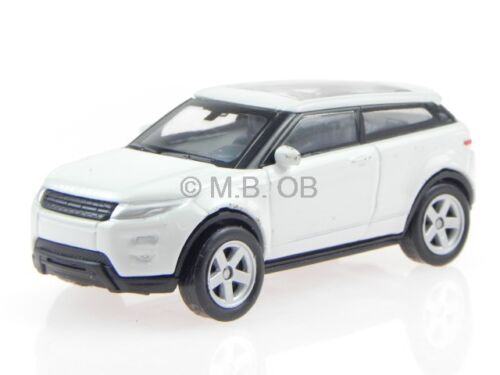 Land Rover Range Rover Evoque weiss Modellauto Welly 1:60