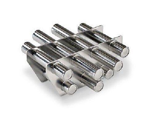 Trichtermagnet Magnetabscheider Edelstahl 180 x 170 x 75 mm