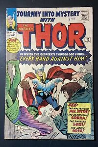 Marvel-Comics-Journey-Into-Mystery-110-Thor-1965-Vintage-Old-Comic-Book