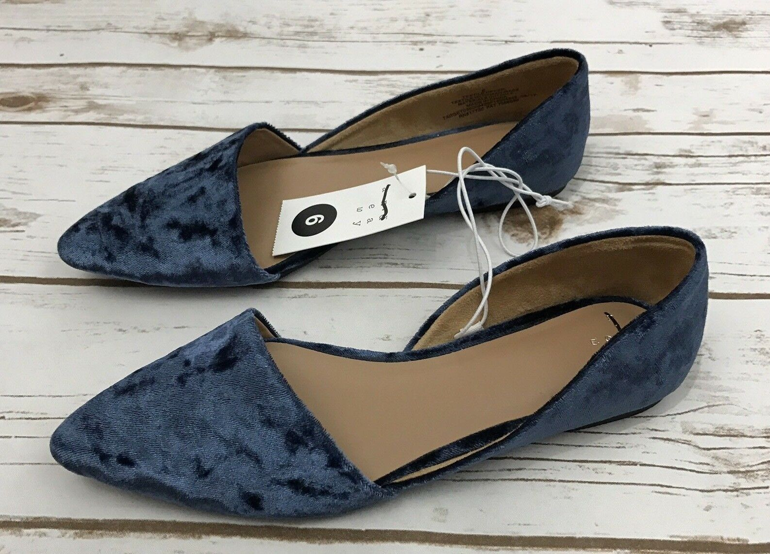 A New Day Women's D'Orsay Flat Shoes