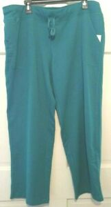 Women-Sweatpants-Green-Athletic-Works-Loose-Fit-Drawstring-Pockets-Soft-NWT-2XL