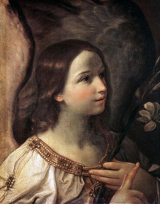 Dream-art Oil painting Salome Guido Reni Annunciation Madonna with angels canvas